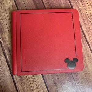 3/$25 Disney Red Scrapbook Photo Album